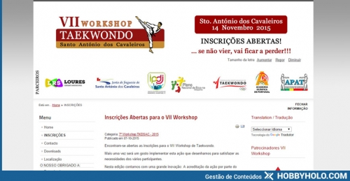 Workshop TKDSAC